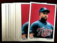 Score Kirby Puckett Original Baseball Cards For Sale Ebay