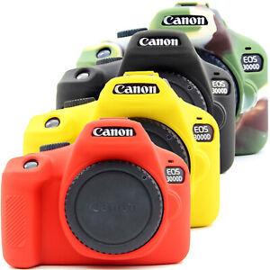 for Canon EOS 3000D 4000D Rebel DSLR Protector Frame Skin case Rubber Silicon