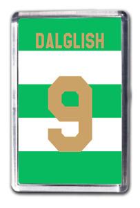 Kenny Dalglish Celtic Inspired Number 9 Football Shirt Fridge Magnet