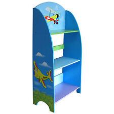 Bücherregale und Regale für Kinder in Blau