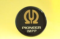 PIONEER Round Logo Plastic Sticker - Single