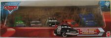 Disney Cars Radiator Springs Chase 5 car set w/ Sheriff DJ Wingo Boost Snot Rod