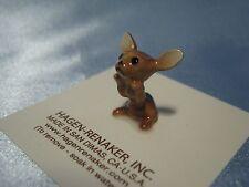 Hagen Renaker Dog Chihuahua Brown Pup Figurine Miniature 03381 FREE SHIPPING NEW