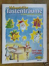 easy piano WEINACHTLICHE TASTENTRAUME christmas