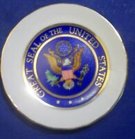 Vintage Miniature Great Seal Of The United States Plate