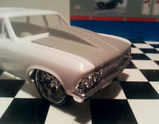 Resin Outlaw Hood '66 Chevelle, Station Wagon & El Camino. Lindberg/Revell. 1/25