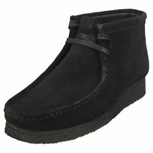 Clarks Originals Wallabee Boot Womens Black Wallabee Boots - 7 UK