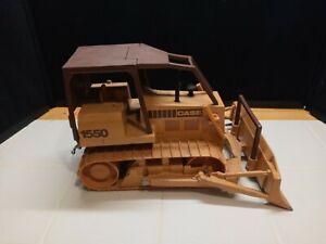 Rare Ertl 1/16 Case 1550 Bulldozer