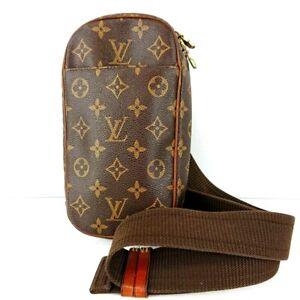 Authentic Louis Vuitton Monogram M51870 Pochette Gange Body Bag Canvas Unisex LV