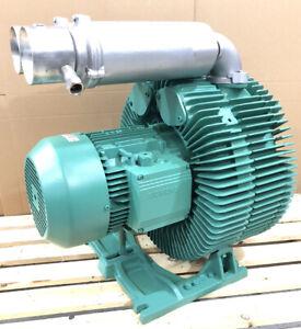 Siemens 7.5kW Vacuum Pump Electric Motor Side Channel Blower Double Impeller