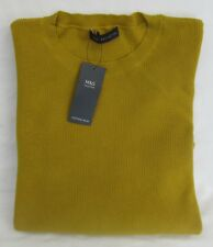 LADIES MARKS AND SPENCER CHARTREUSE JUMPER WITH PLEATED BELL SLEEVE SIZE 14