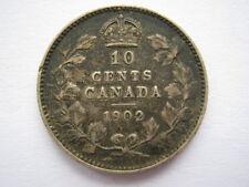 Canada 1902 10 Cents GF