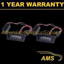 2x Para Audi A4 A5 A6 Q5 Tt Upgrade de aluminio 3 Cree Led Blanco de la placa de lámparas
