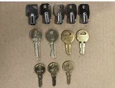 Elevator Service And Fire Keys Set New! Set Of 12