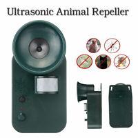 Garden Ultrasonic Cat Dog Mouse Battery Operated Pest Repeller Scarer Deterrent