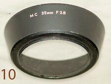 Minolta MC 35mm f2.8  52mm threaded lens hood