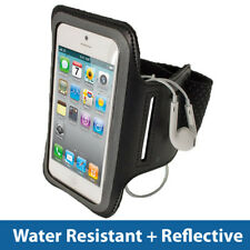 Negro Brazalete Deportivo Jogging Antideslizante Para Nuevo Apple iPhone 5 5S 5C se