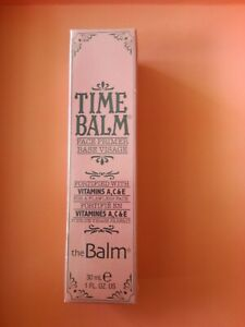 BRAND NEW & SEALED TIME BALM THE BALM FACE PRIMER - 30ml