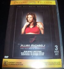 Jilian Micheals The Ultimate Workout Biggest Loser (Aust Reg 4) DVD - Like New