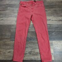 AG Adriano Goldschmied The Stevie Slim Straight Ankle Jeans Women's Size 30 R