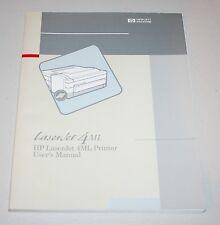 Original Users Manual for HP LaserJet 4ML Printer - From 1993 Very Nice
