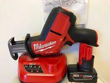 Novo M12 Combustível hackzall prestação Serra Milwaukee 2520-20 + (1) 4.0AH Manta + Carregador (1)