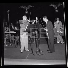 1942 WW2 Jascha Heifetz Jack Benny USO Violinist Skit Negative w/rights 317i
