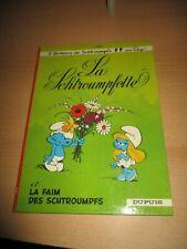 Les Schtroumpfs-Bd EO-La Schtroumpfette-1967-Dos rond-Excellent état