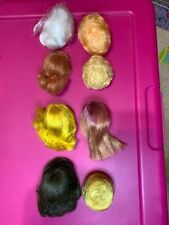 Set of 8 Fashion Queen Barbie and Color Magic Etc., WIGS