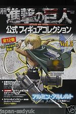 JAPAN Monthly Attack on Titan / Shingeki no Kyojin Official Figure Collection 5