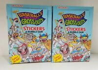 2 BOX LOT BASEBALL GREATEST GROSS OUTS COLLECTIBLE TRADING CARDS UNOPENED BOX