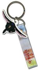 Tsubasa/xxxHolic Black Mokona PVC Keychain w/ strap licensed anime Clamp