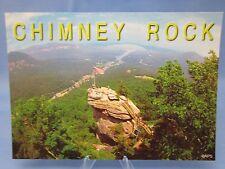 CHIMNEY ROCK NORTH CAROLINA Postcard & LAKE LURE N.C.
