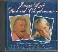 JAMES LAST / RICHARD CLAYDERMAN CD Album 12TR (RMB 75081) 1995 RARE!!