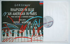 GERSHWIN Rhapsody In Blue/American in Paris DUTOIT/MONTREAL 425111-1 digital LP