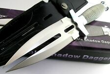 Hibben Double Shadow Double Edge Dagger Blade Stainless Wire Handle Knife GH453