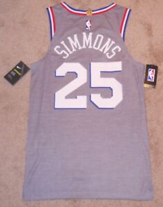 Ben Simmons Philadelphia 76ers City Authentic Jersey sz 40 Nike New w/ tags Mens