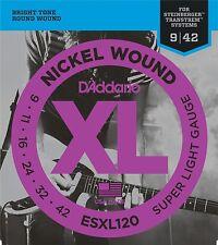 D'Addario ESXL120 Set Corde Elettrica EXL