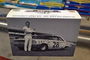 85-4333 Revell '63 Ford Galaxie 500 #28 Fred Lorenzen 1:32 Slot Car Limited Edit