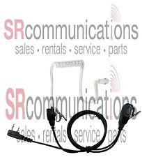 Lapel Mic Acoustic headset W/PTT Kenwood TK2160 TK2360 TK3160 TK3360 TK2312