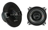 KICKER KSC40 (KSC404) Koax 10 cm Koaxial-Lautsprecher Paar, mit Grill 150 Watt