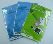 Screen Protectors, Multiple Devices, Ipod, Samsung, LG, New In Package