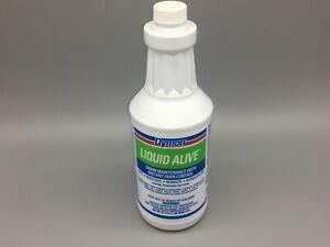 Dymon LIQUID ALIVE Enzyme Producing Bacteria, 32 oz Bottle, 23332 DRAIN & ODOR