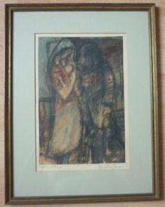 Ignatius Geitel, Bochum-Ehrenfeld, um 1950-70 Frau mit Kind (Art.3140)