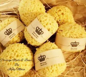 Bath Sponge Large Natural Feel Soft Shower Body Cleanse Exfoliating Scrub