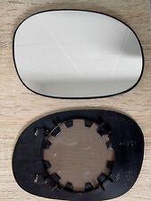 Glace miroir retroviseur droit Peugeot 206 avec support degivrant d'origine
