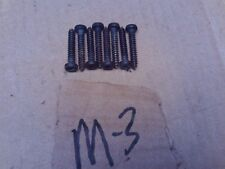 "1981 1987 1988 MONTE CARLO CUTLASS REGAL GN GNX IMPALA 1"" INCH TORX HEAD SCREWS"
