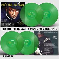 Lil Keke - Don't Mess Wit Texas Vinyl Record LP - Neon Green Variant DJ Screw