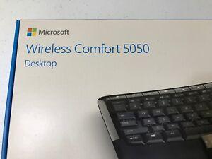 Microsoft Wireless Comfort 5050 Desktop Keyboard Mouse 1728, 1387, 1423