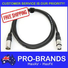 2M 120 Ohm 3 Pin DMX Lighting Interconnecting XLR Patch Cable Lead Cord Wire